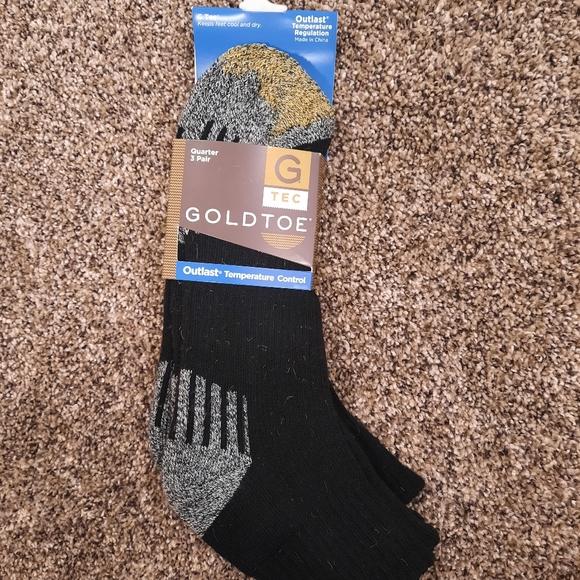 Men's Gold Toe Quarter Socks